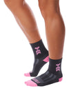 Coeur Sports accessory One Size / Grey Slate Cycling & Run Socks