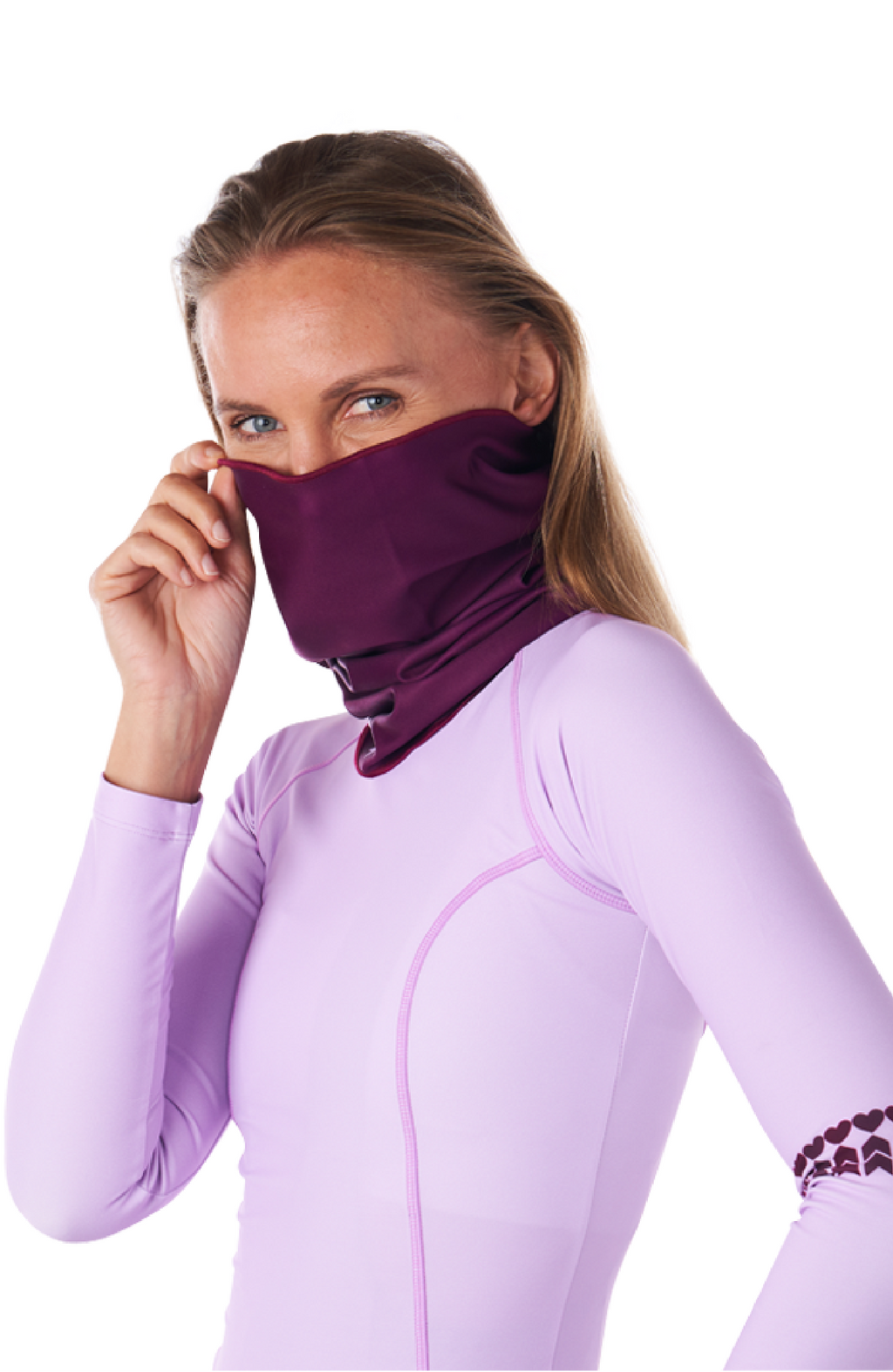 Coeur Sports accessory One Size / Pink Paso Thermal Neck Gaiter