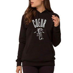 Coeur Sports accessory small / Black Tiger Pullover Hoodie
