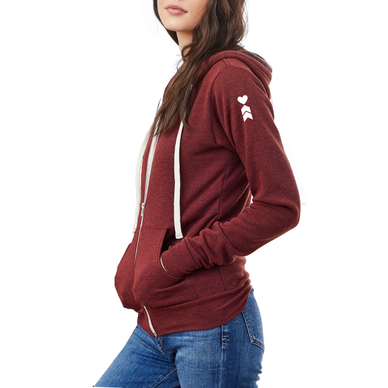Coeur Sports accessory Snuggle Up Varsity Hoodie