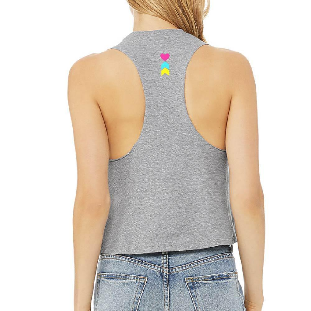 Coeur Sports accessory Synthwave Cycle Crop Tank