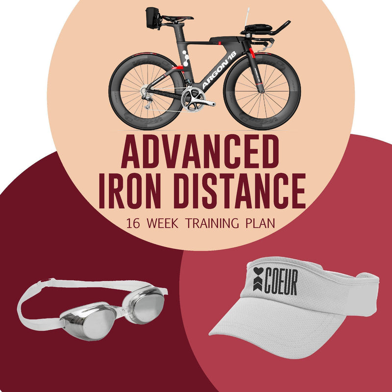 Iron Distance Triathlon Training Plan: Women's 16 Week