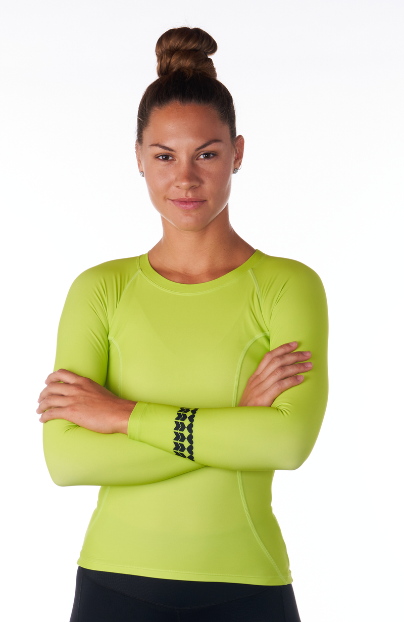 Coeur Sports Base Layer Green Viper Base Layer