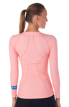 Coeur Sports Base Layer Peony Base Layer Top