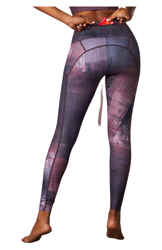 Coeur Sports Canvas Running Tights
