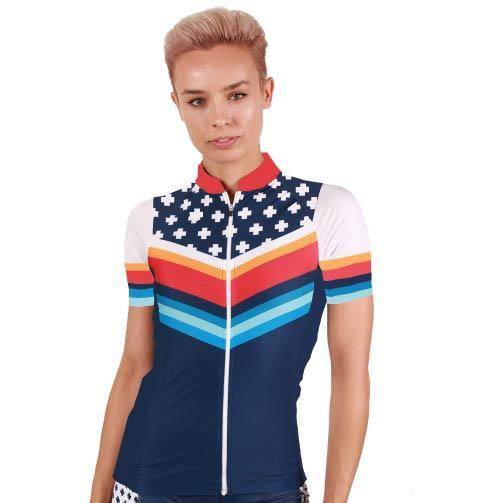 Coeur Sports Cycling Jersey Liberty Women's Cycling Jersey