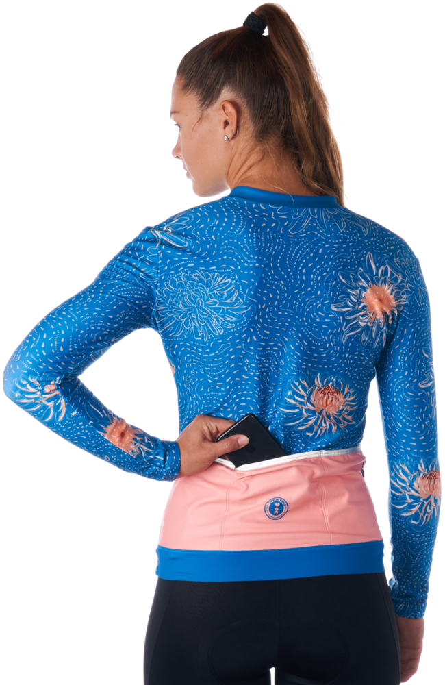 Coeur Sports Cycling Jersey Peony Thermal Jersey