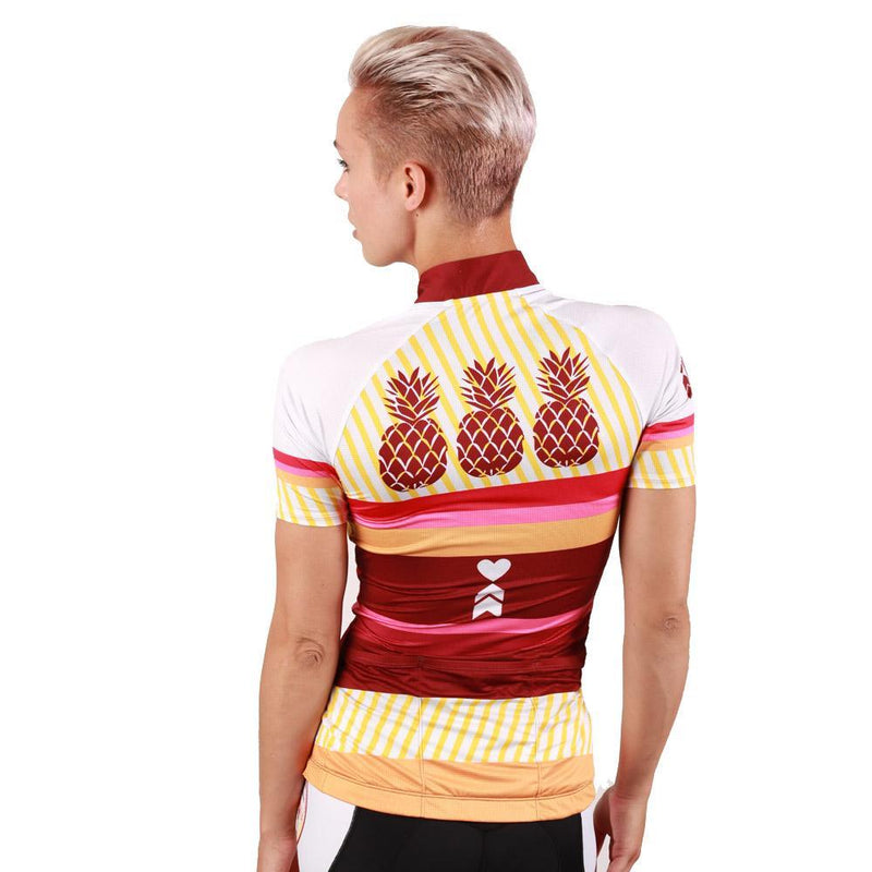 Coeur Sports Cycling Jersey Pina Colada Women's Cycling Jersey