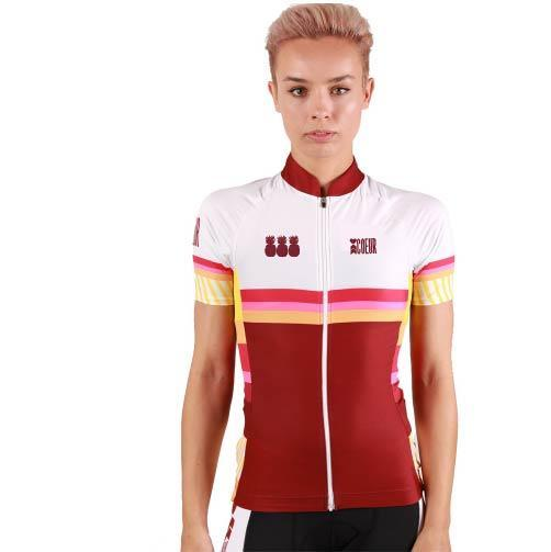 Coeur Sports Cycling Jersey PRE-SALE! Pina Colada Women's Cycling Jersey - Ships by September 5th