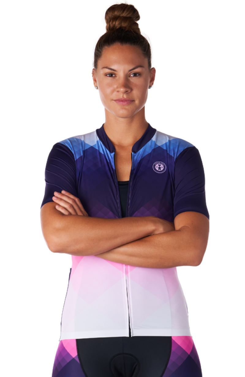 Coeur Sports Cycling Jersey Prism Women's Cycling Jersey
