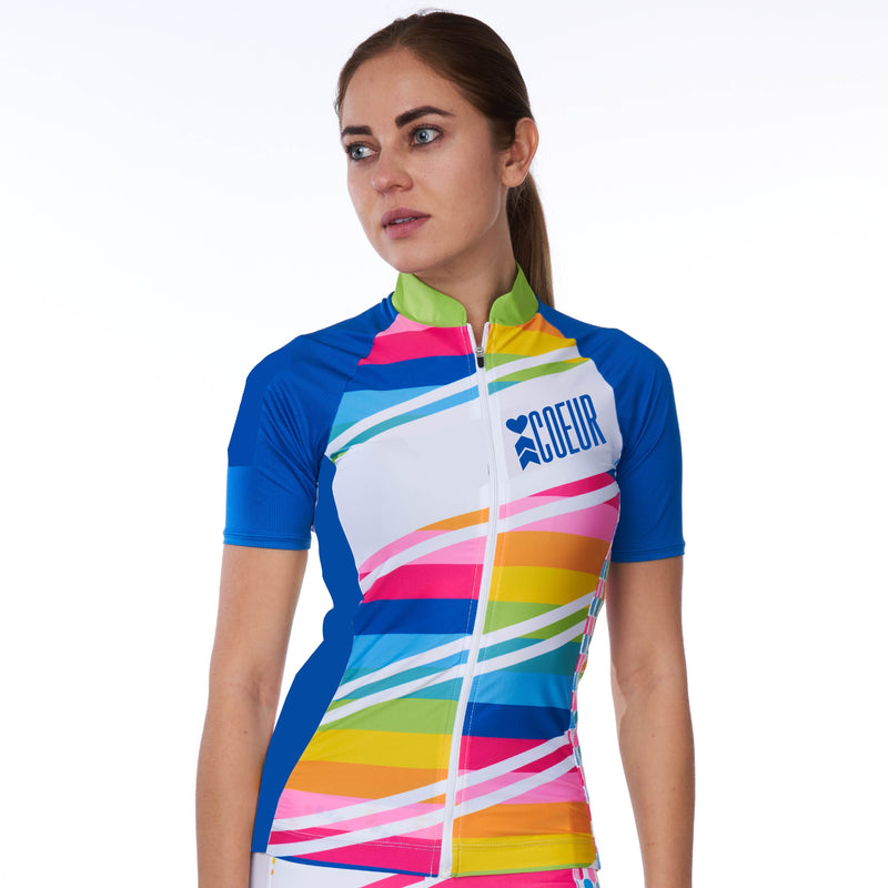 Coeur Sports Cycling Jersey Sorbet Women's Cycling Jersey