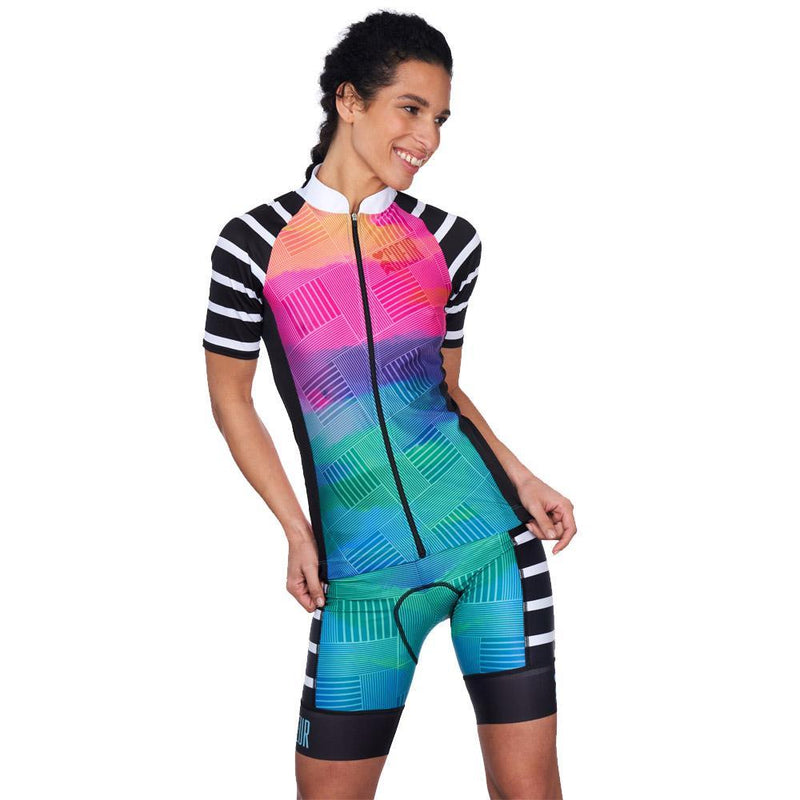 Coeur Sports Cycling Jersey Sunset Strip Women's Cycling Jersey