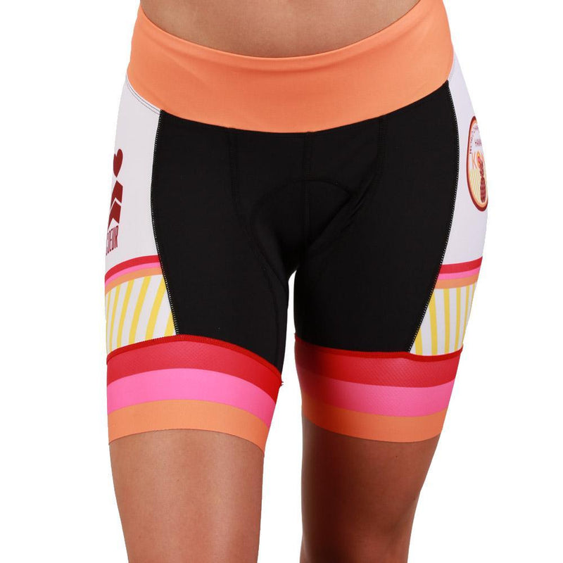 Coeur Sports Cycling Short Pina Colada Women's Cycling Short