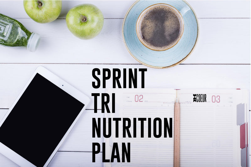 Coeur Sports Free Sprint Triathlon Nutrition Plan