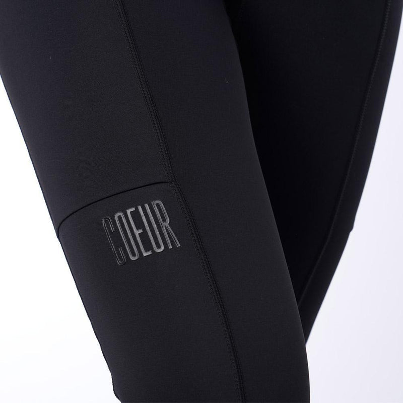 Coeur Sports Little Black Running Tights