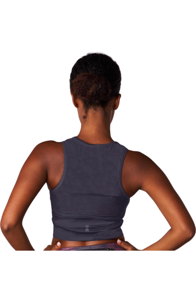 Coeur Sports Run Crop Dove Women's Running Crop