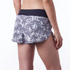 Coeur Sports Run Short Palm Print Running Shorts