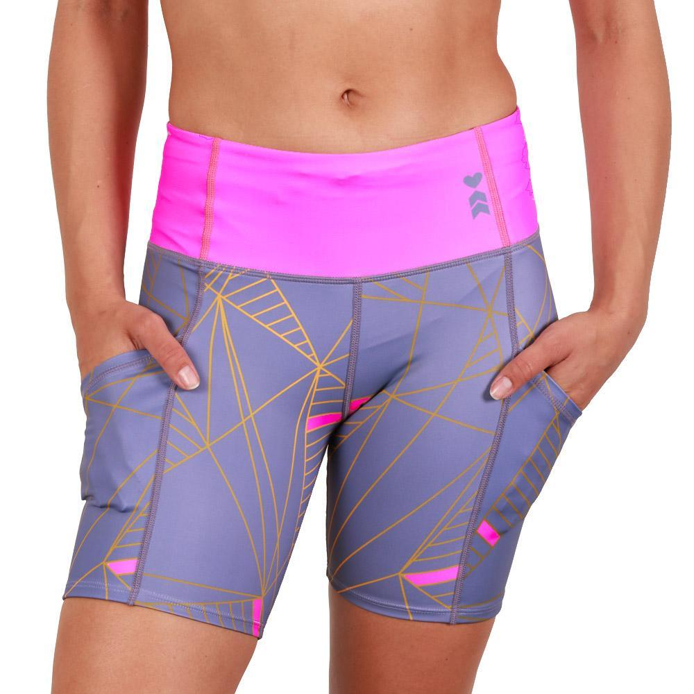 Coeur Sports Running Shorts Deco Fitted Run Shorts