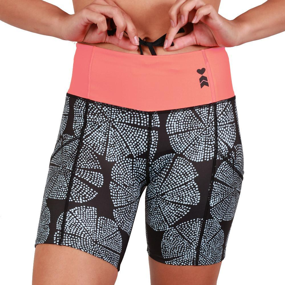 Fitted Running Shorts in Sandstar Design