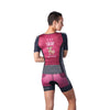 Coeur Sports Sleeved Triathlon Speed Jersey Tigerlily Women's Sleeved Triathlon Aero Top