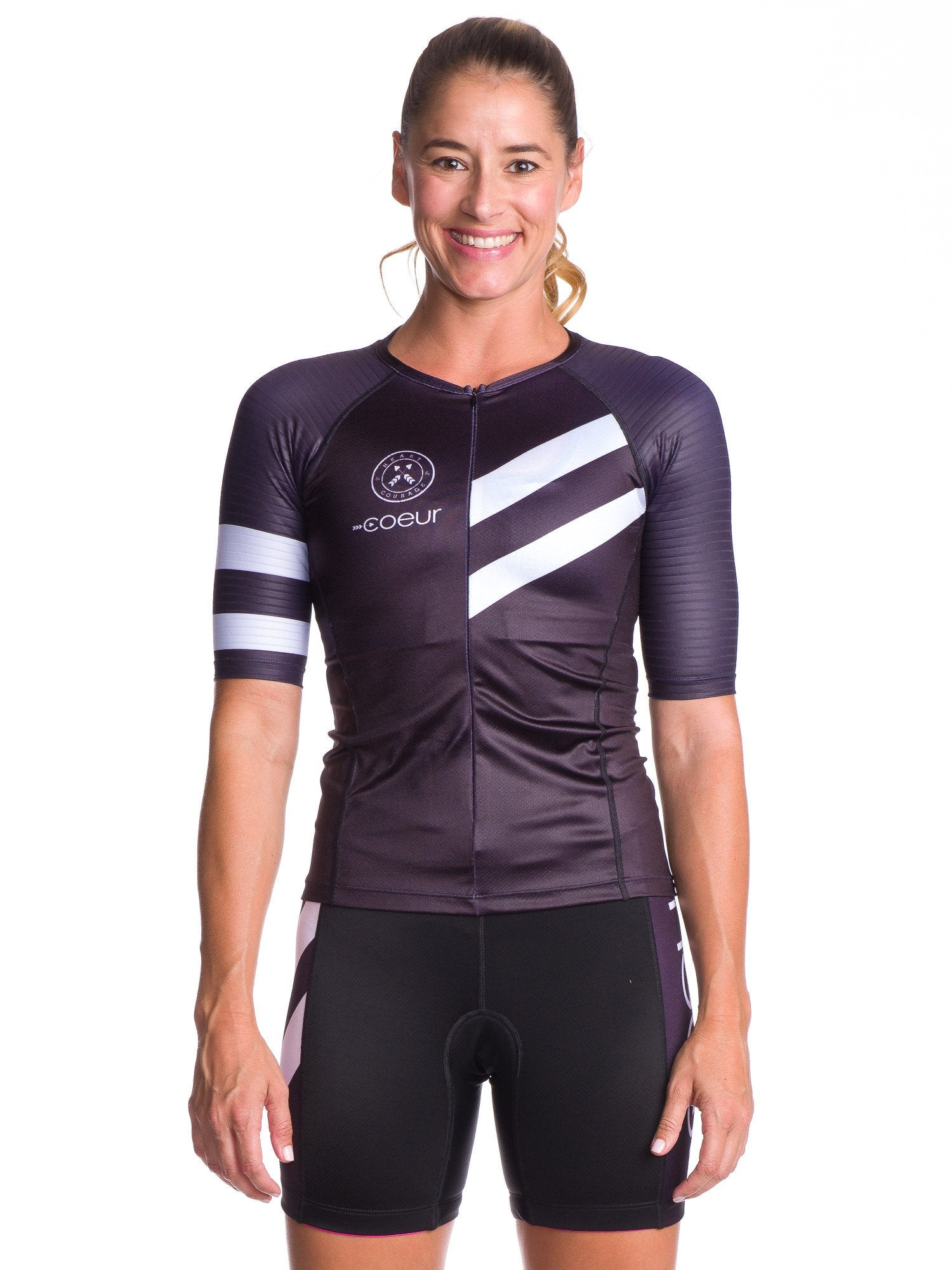 Coeur Sports Sleeved Triathlon Speed Jersey Zele Women