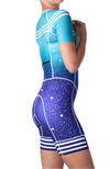 Coeur Sports Sleeved Triathlon Speedsuit 5 a.m. Women's Sleeved One Piece Triathlon Suit