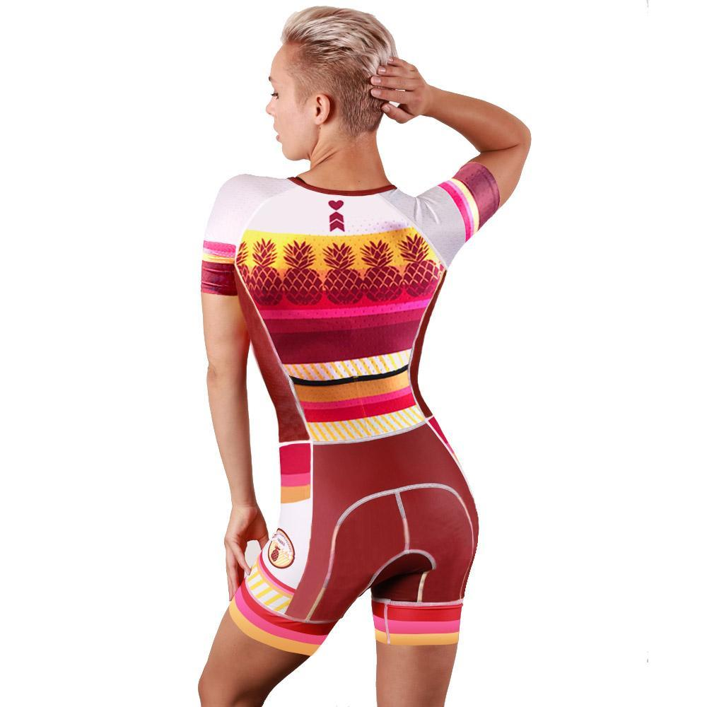 Coeur Sports Sleeved Triathlon Speedsuit Kona 19 Women's Sleeved One Piece Triathlon Suit