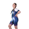 Coeur Sports Sleeved Triathlon Speedsuit Soundcheck Women's Sleeved One Piece Triathlon Suit