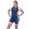 Coeur Sports Sleeved Triathlon Speedsuit Team 20 Sleeved One Piece Triathlon Suit