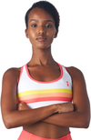 Coeur Sports Sports Bra Citrus Pocket Sports Bra