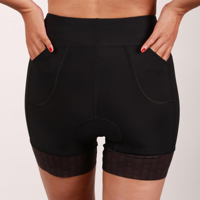 "Coeur Sports Tri Short Little Black 5"" Triathlon Shorts - 6cm Gripper"