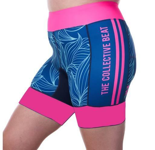 Coeur Sports Tri Shorts Collective Beat 20 Women's 5 inch Triathlon Shorts - Ships late December 19