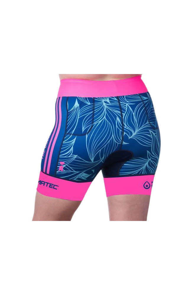 Coeur Sports Tri Shorts Collective Beat 20 Women's 5 inch Triathlon Shorts w/ Logos- Ships late December