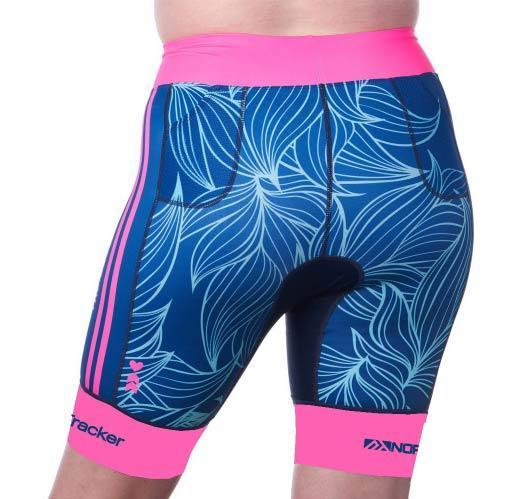 Coeur Sports Tri Shorts Collective Beat 20 Women's 8 inch Triathlon Shorts w/ Logos- Ships late December