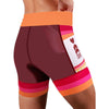 "Coeur Sports Tri Shorts Pina Colada Women's 5"" Triathlon Shorts"