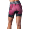"Coeur Sports Tri Shorts Tigerlilly Women's 5"" Triathlon Shorts"