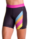 "Coeur Sports Tri Shorts Women's 5"" Triathlon Shorts in Island Vibe"