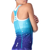 5 a.m. Women's Braless Triathlon Tank