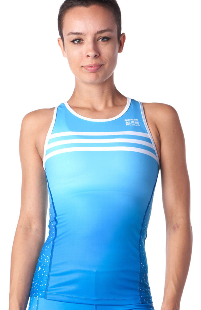 Coeur Sports Triathlon Tank Top 5 a.m. Women's Braless Triathlon Tank