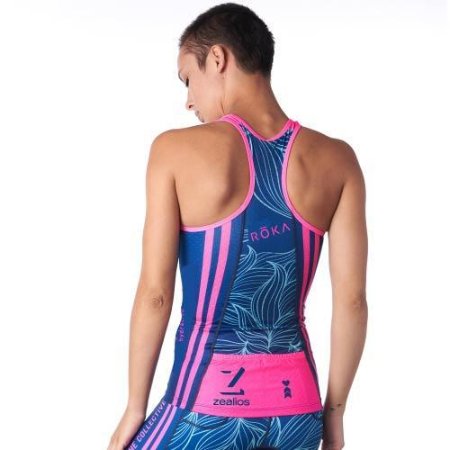 Coeur Sports Triathlon Tank Top Collective Beat 20 Women's Braless Tri Tank w/ Logos - Ships late December