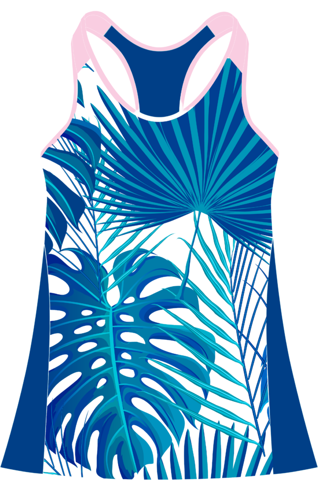 Coeur Sports Triathlon Tank Top Kona 20 Triathlon Tank with Shelf Bra