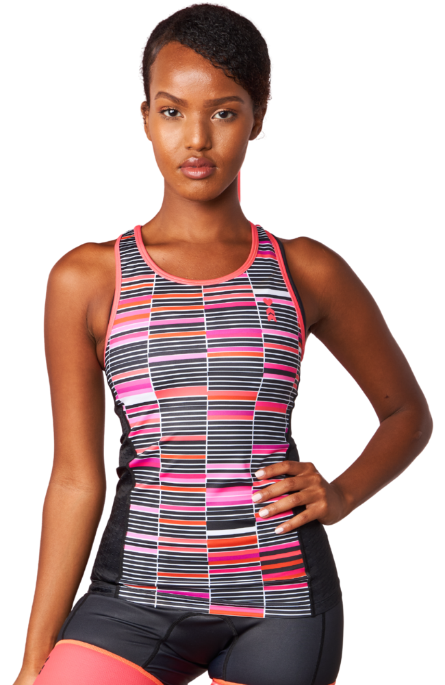 Coeur Sports Triathlon Tank Top Mari Women's Braless Triathlon Tank