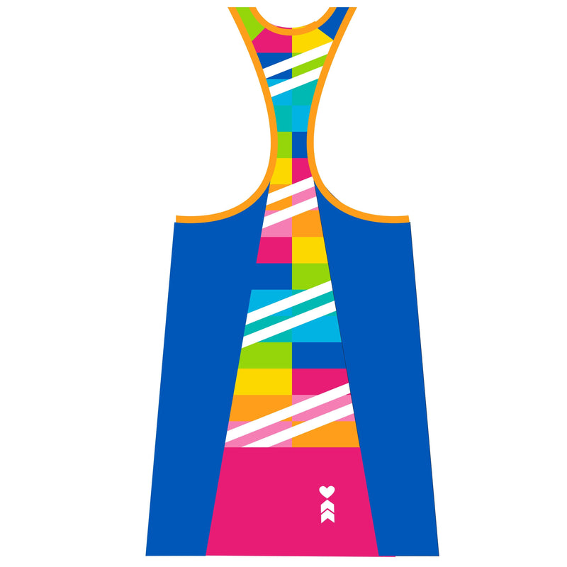 Coeur Sports Triathlon Tank Top PRESALE! Sorbet Women's Triathlon Tank with Shelf Bra