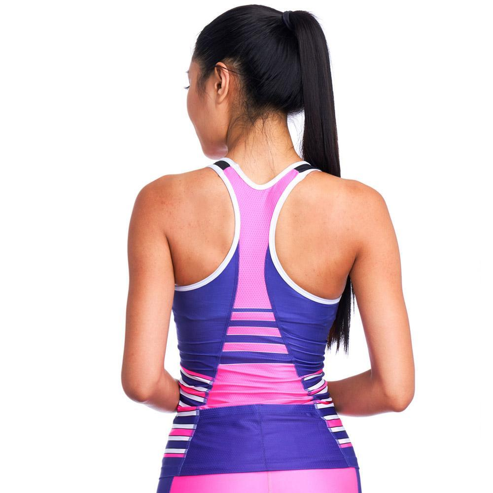 Coeur Sports Triathlon Tank in Pop Tart Design