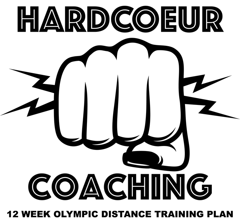 Coeur Sports Women's 12 week Olympic Distance Triathlon Training Plan