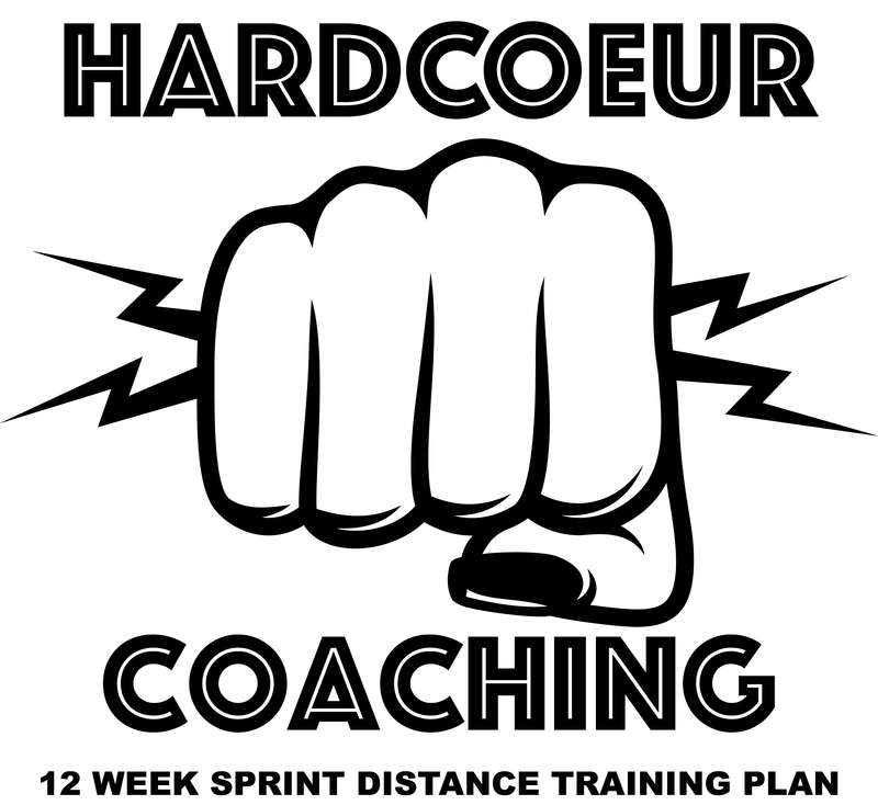 Coeur Sports Women's 12 week Sprint Distance Triathlon Training Plan