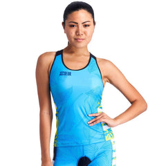 Coeur Triathlon Tank Top XS / Flora Flora Women's Braless Triathlon Tank