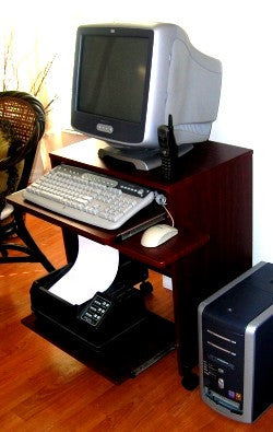 Popular Compact Computer Desk Painting