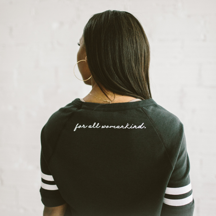 'FOR ALL WOMANKIND' Stephanie SS Pullover