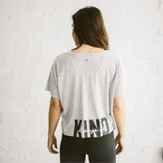'ALWAYS BE KIND' Carrie Boxy Tee